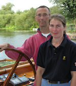 Emma and Derek Fearnley - Newbury Boat Company Marina